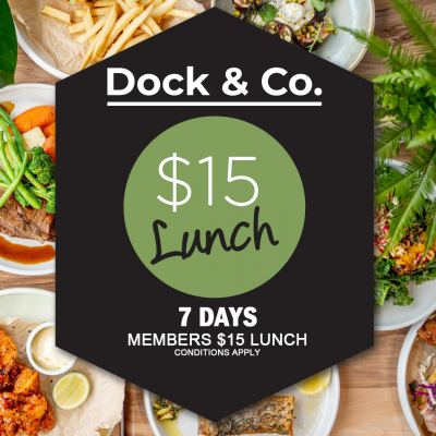 Members $15 Lunch